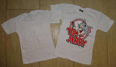 Футболка Том и Джери белая1, фото 3