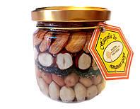 Мед с орехами ( Медовый десерт ) 250 г