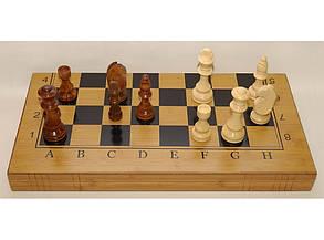 Шахматы 3 в 1: шахматы, шашки, нарды i5-48 (огромные фигуры), фото 2