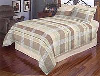 Красивое постельное белье в клетку 19121