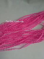 Тесьма вьюнок,ярко розовый (ширина 5-6мм), фото 1
