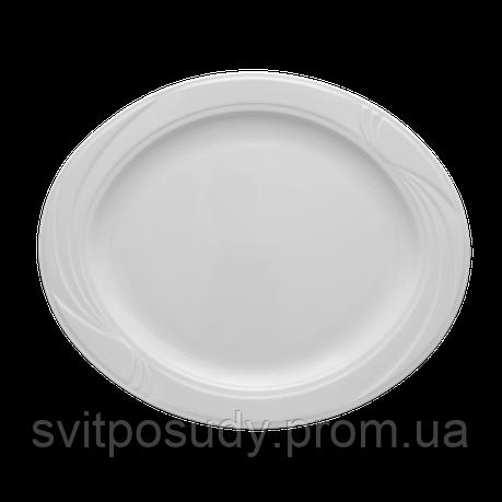 Блюдо 330 мм, овальное Lubiana, фасон ARCADIA, фото 2