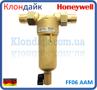 Самопромывной фильтр для горячей воды  Honeywell FF06 1 AAM