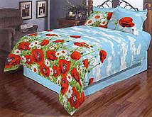 Яркое постельное белье с рисунком тюльпана 19129