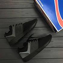 Мужские кроссовки New Balance 247 All Black черные топ реплика, фото 2