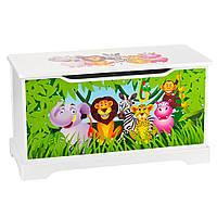 Комод- ящик для игрушек животные