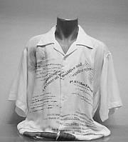 Рубашка Fill Pucci мужская лен большой размер .