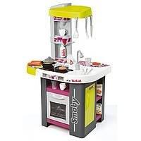 Интерактивная детская кухня Mini Tefal Studio  Smoby - Франция - с барбекю