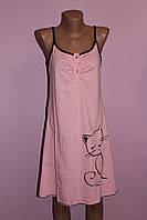 Ночная  рубашка Кошка