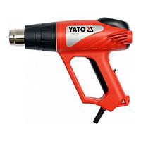 Фен промышленный (тепловая пушка) 2000W 70~550°C YATO