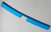 Skoda Fabia 3 накладка защитная на задний бампер внутренняя