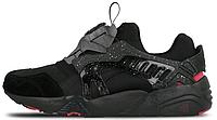 Мужские кроссовки Crossover x Puma Disc Blaze 'Black Rose' (Пума Диск Блейз) черные