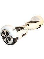 """Гироборд Smart Balance Wheel 6.5"""" (ТаоТао, Самобаланс) Белый, TaoTao App., Самобаланс, до 20км/ч, 2 часа на одном заряде, сумка, BT-колонки,"""