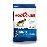 Сухой корм 15 кг для крупных пород Роял Канин / MAXI ADULT Royal Canin