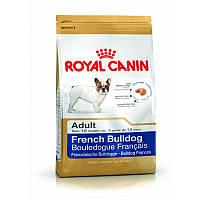 Сухой корм 3 кг для породы Французский бульдог Роял Канин / FRENCH BULLDOG ADULT Royal Canin