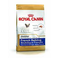 Сухой корм 1 кг для щенков породы Французский бульдог Роял Канин / FRENCH BULLDOG JUNIOR Royal Canin