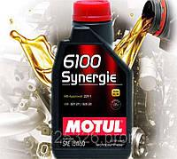 Моторное масло Motul 6100 Synergie SAE 15W50 (1л)