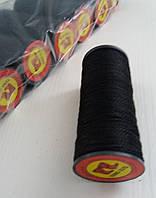 Капроновая обувная нить (черная) №375