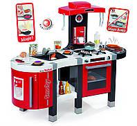 Интерактивная детская кухня Mini Tefal Super Chef   Smoby - Франция - с 4-мя камфорками