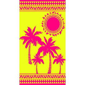 Рушник пляжний Пальми