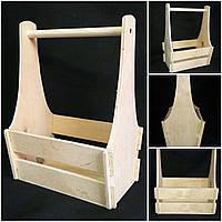 Ящик декоративный из дерева, 25х17х36 см., 160/130 (цена за 1 шт. + 30 гр.)