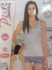 Удобная и стильная женская пижама  Pink Secret, фото 3