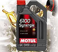 Моторное масло Motul 6100 Synergie SAE 15W50 (5л)