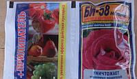 Би-58 с прилипателем качество защита растений от вредителей