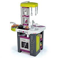 Интерактивная детская кухня Mini Tefal Studio Smoby - Франция - 27 элементов в посуде