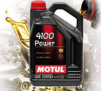 Моторное масло Motul 4100 Power 15W-50 (4л)