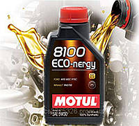 Моторное масло Motul 8100 Eco-nergy SAE 5W30 (1л)