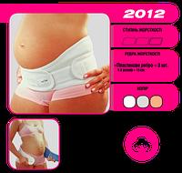 Бандаж для беременных до и послеродовой Евро Серый Алком 2012 Бандаж до-післяродовий Євро 1-4 размер