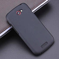 Матовый силиконовый чехол HTC One S/Z520e Black