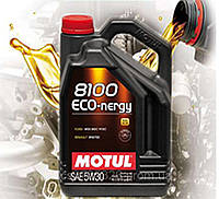 Моторное масло Motul 8100 Eco-nergy SAE 5W30 (5л)