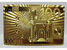 Карты в подарочном сундучке ― 100 Евро I5-21, колода игральных карт, подарочная пластиковая колода карт, фото 3