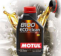 Моторное масло Motul 8100 Eco-clean 0W30 (1л)