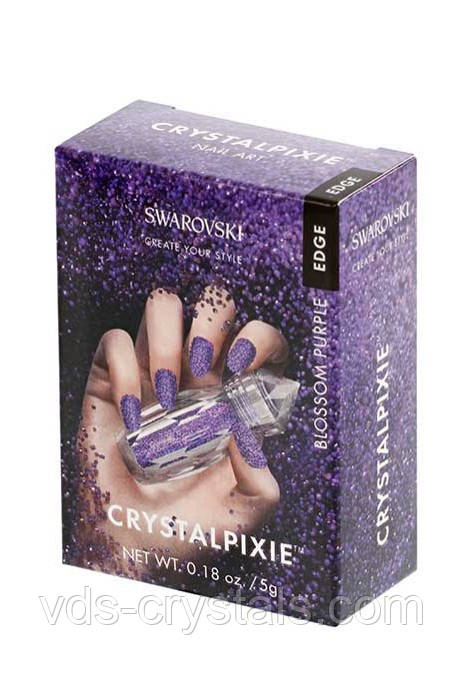 Пикси Swarovski Crystalpixie Edge Bloosom purple