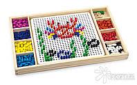 """Игрушка Viga Toys 2-в-1 """"Мозаика & Лудо"""" (59990VG)"""