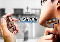 Ультра-портативная бритва Carzor в виде кредитной карты