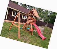 Детская деревянная площадка dp-002