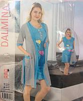 """Ночная сорочка + халат """"Dalmina"""""""