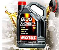 Моторное масло Motul 8100 X-clean+ 5W30 (5л)