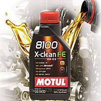Моторное масло Motul 8100 X-clean FE 5W30 (1л)
