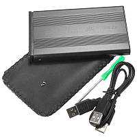 Карман для жесткого диска винчестера USB 2.0, SATA Черный