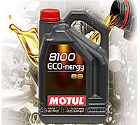 Моторное масло Motul 8100 Eco-nergy 0W30 (5л)