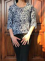 Красивая блузочка с удлиненной спинкой, S,M,L р-ры, 225/195 (цена за 1 шт. + 30 гр.)