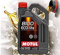 Моторное масло Motul 8100 Eco-lite 5W30 (4л)