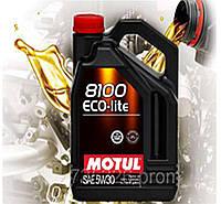 Моторное масло Motul 8100 Eco-lite 5W30 (5л)