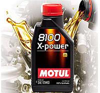 Моторное масло Motul 8100 X-Power SAE 10w60 (1л)
