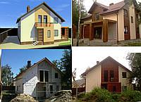Строительство частных домов, строительные работы.
